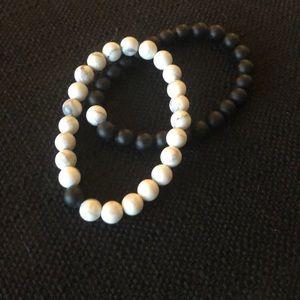 Jewelry - Distance bracelets elastic beaded